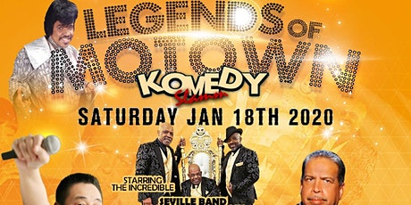 COMEDY and TRIBUTES: O'JAYS, NATALIE COLE, TEDDY P tickets