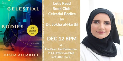 Let's Read Book Club - Celestial Bodies by Jokha al-Halthi