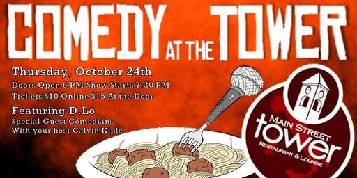 Comedy at The Tower - October Edition