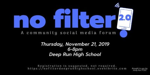 No Filter! 2.0 - A Community Social Media Forum