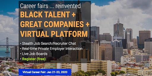 Black Virtual Career Fair (BVCF) - Financial Services/Tech/General