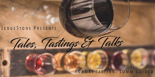Tasting Tuesdays at The LedgeStone Winery | November 19th