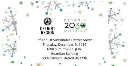 3rd Annual Sustainable Detroit Soiree tickets