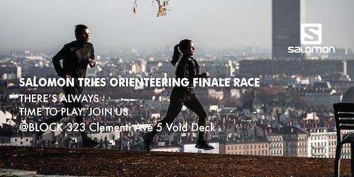 Salomon Tries Orienteering (Finale Race)