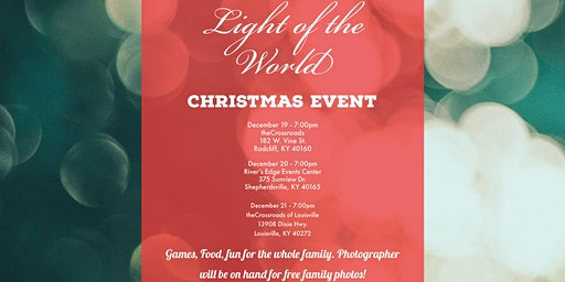 Light of the World - Christmas Event SHEPHERDSVILLE