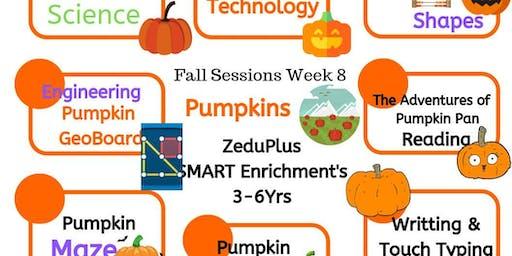 Pumpkins -ZeduPlus SMART Enrichment for 3-6 yrs
