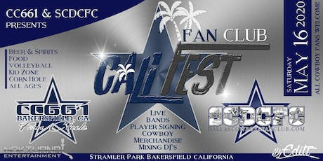 "Cowboys Fan Club ""Cali-Fest"" tickets"