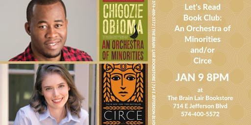 Let's Read Book Club - Orchestra of Minorities and/or Circe