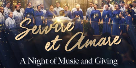 Servire Et Amare, A Night of Music and Giving