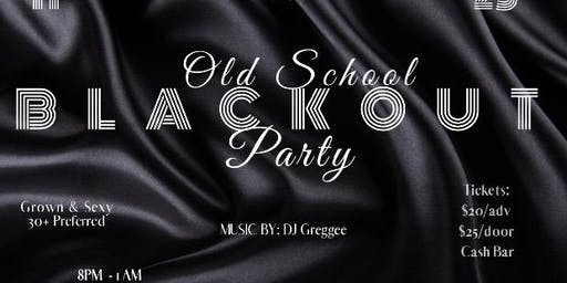 Copy of Copy of Florida Classic Core Group, LLC Present Old School BlackOut Party