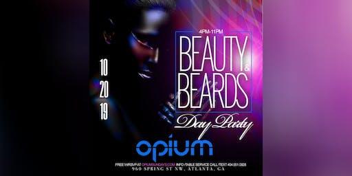 THIS SUNDAY :: BEAUTY & BEARDS DAY PARTY @ OPIUM NIGHTCLUB