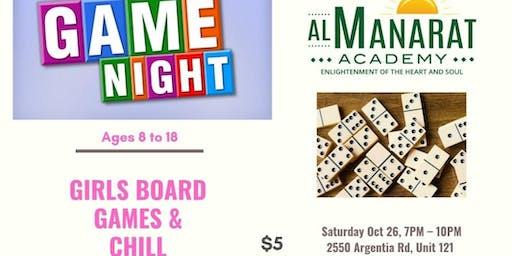 Girls Board Game & Chill