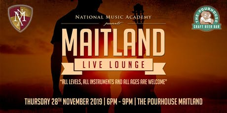 Maitland Live Lounge - Term 4 tickets