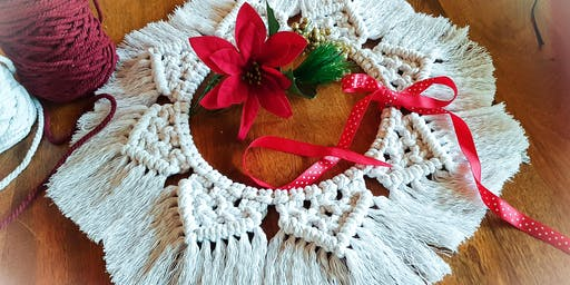 Xmas Wreath Table Centrepiece Workshop