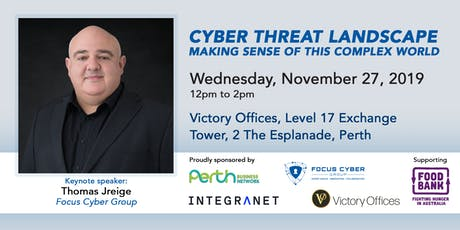 Cyber Threat Landscape - Making Sense of this Complex World tickets