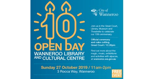 Wanneroo Library and Cultural Centre Open Day