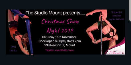 The Studio Mount Christmas Show tickets