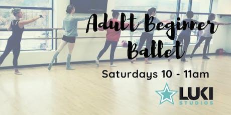 Beginner/Intermediate Series: Ballet [Nov] tickets