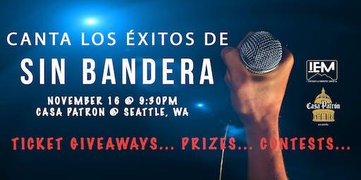 SIN BANDERA Karaoke Warm-up Part II
