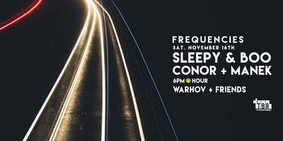 Sleepy & Boo - Frequencies @ TBA Brooklyn - free entry