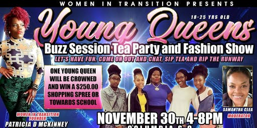 Young Queens Tea Party and Buzz Session