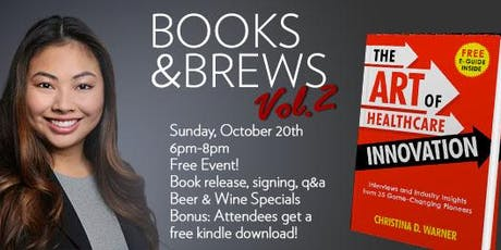 Books & Brews Vol. 2  with Christina D. Warner tickets