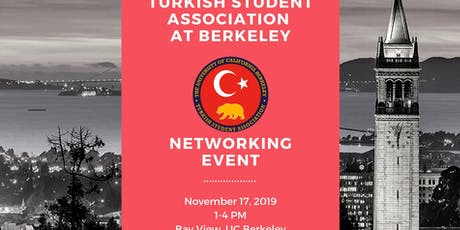 Turkish Student Association Berkeley  Networking Event tickets