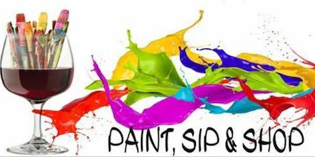 Paint, Sip & Shop Paparazzi Party! tickets