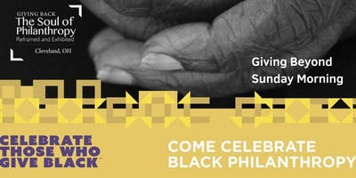Giving Beyond Sunday Morning-Benefits & Challenges Faith Leaders' Breakfast