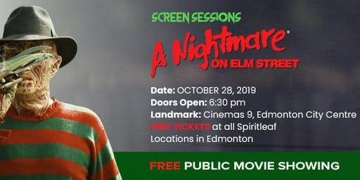 A Nightmare On Elm Street - Free Showing