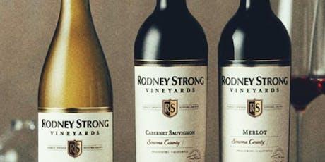 Rodney Strong Wine Dinner tickets