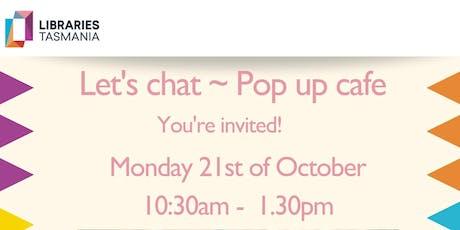 26TEN Event- Pop up café  @ Glenorchy Library tickets