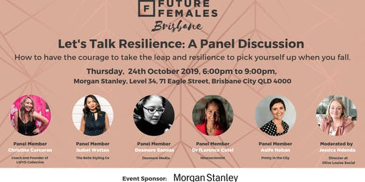 Let's Talk Resilience: A Panel Discussion