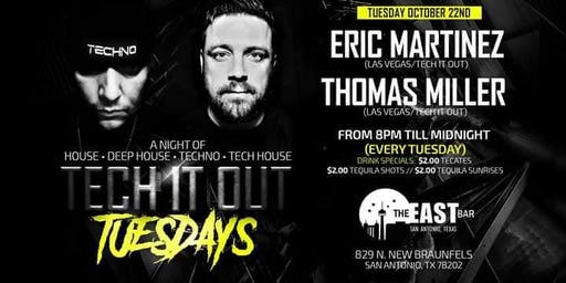 Tech It Out Tuesdays at The East Bar