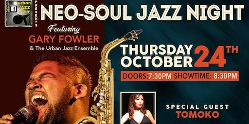 Urban Jazz Society Presents A Night of Live Neo-Soul & Jazz Performances