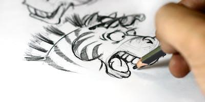 Cartooning workshop for Big Kids