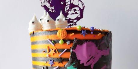 Decoracion de Tortas - Halloween Buttercream Cake entradas