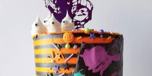 Decoracion De Tortas - Halloween Buttercream Cake