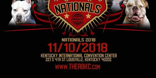 2019 ABKC Nationals Tickets
