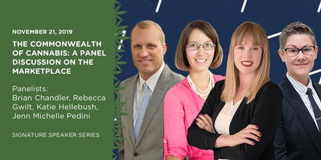 Signature Speaker Series: The Commonwealth of Cannabis - A Panel Discussion tickets