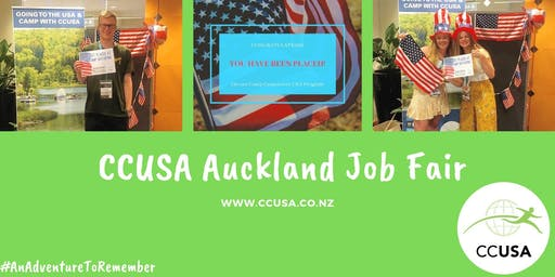 CCUSA Summer Camp Job Fair! - Auckland