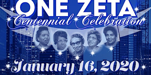 Zeta Phi Beta Sorority - Chicago Citywide Centennial Founders' Day Party
