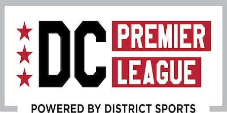 DC Premier League Team Happy Hour tickets