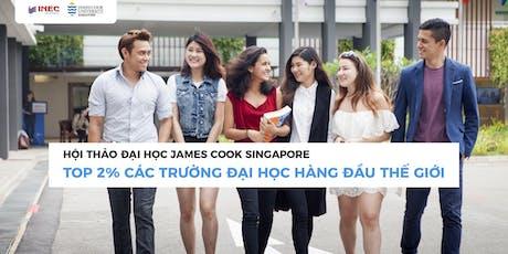 Gặp gỡ James Cook University Singapore - Top 2% trường ĐH hàng đầu thế giới tickets