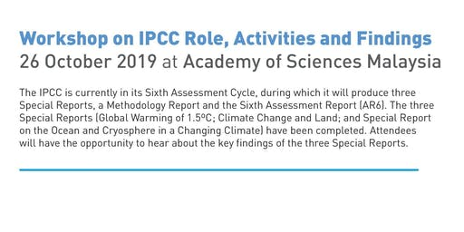 IPCC Findings @ ASM