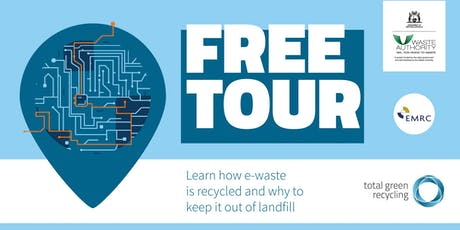 E-waste Recycling facility tour tickets