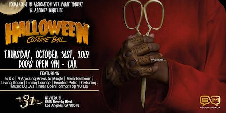 Halloween Costume Party @ Riviera 31| Thursday, October 31st, 2019 tickets