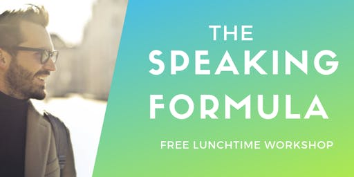 Speaking Formula (lunchtime session)