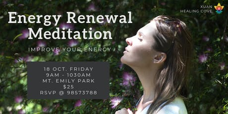 Meditation: Energy Renewal tickets