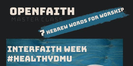 OpenFaith Master Class tickets